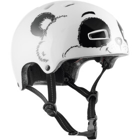 TSG Nipper Mini Graphic Design Helmet Kids, blanco
